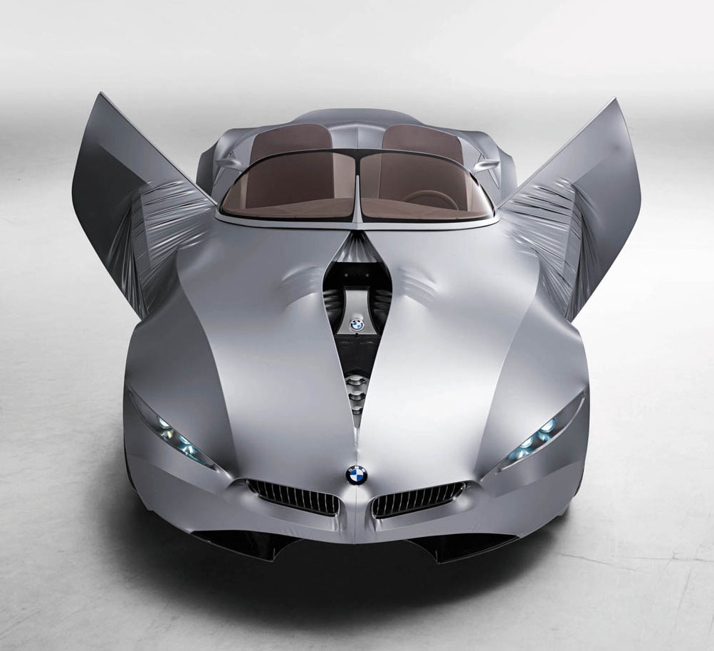 Les entrailles de la BMW Gina