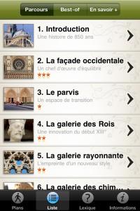 Un audio guide pour visiter Notre-Dame de Paris