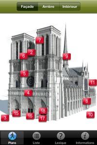 Représentation 3D de Notre Dame à Paris