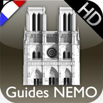 """Icon launcher des Guides NEMO : """"Notre-Dame de Paris"""""""