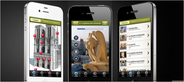 Visiter Notre-Dame de Paris avec son iPhone