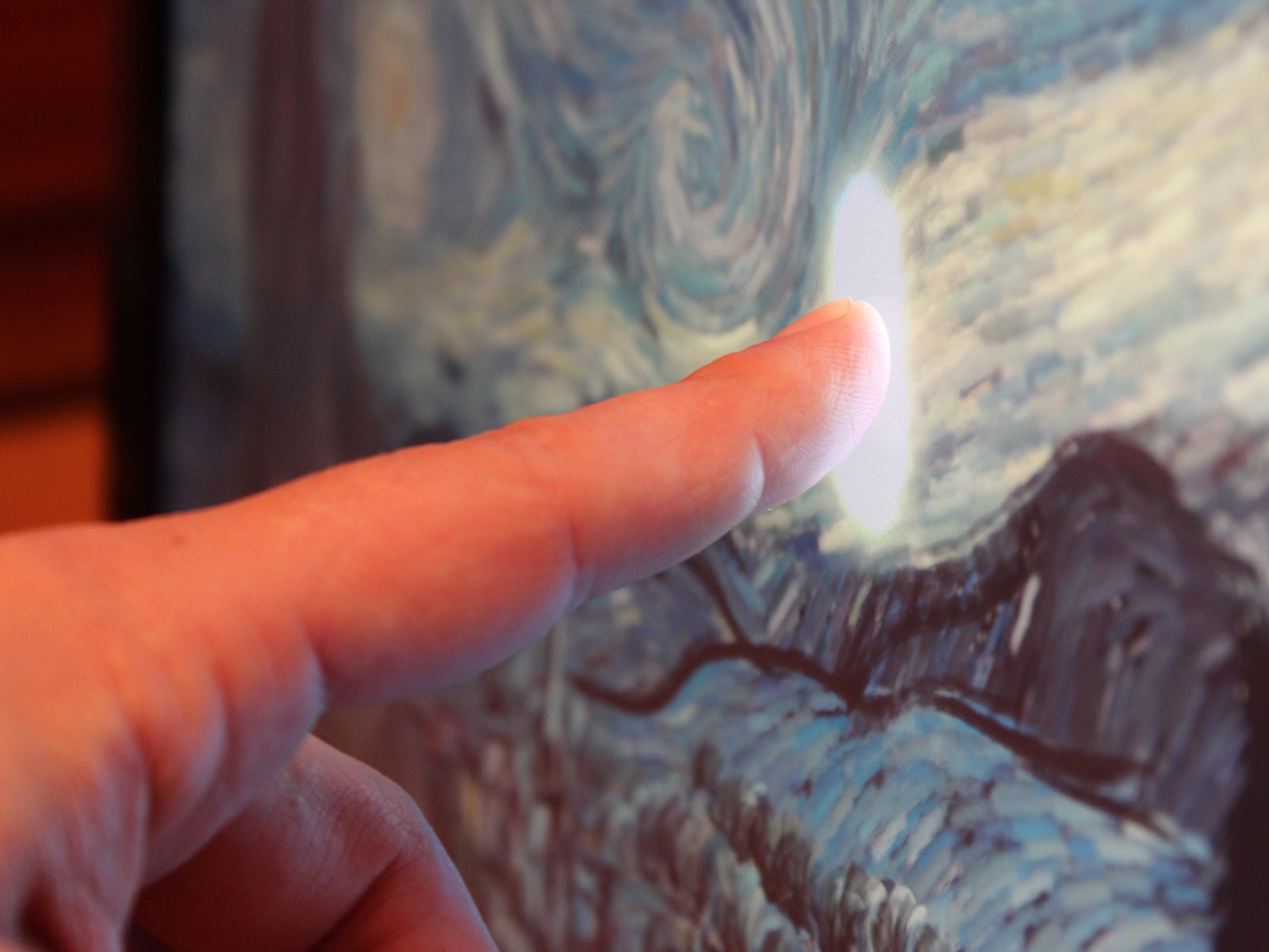 Interactive Van Gogh's – Starry Night's on iPad