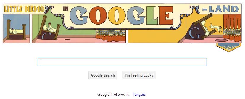 Little NEMO by Google Doodle