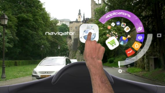 In-Car Augmented Reality