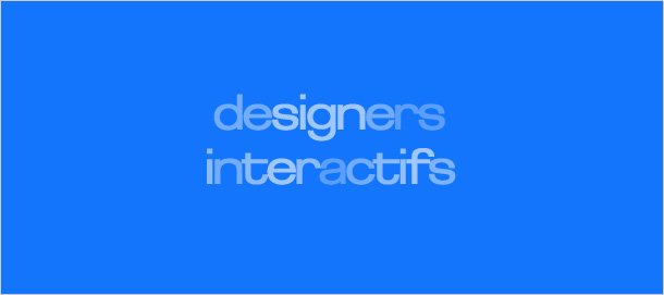 Interaction design in France: an overview by Designers Interactifs