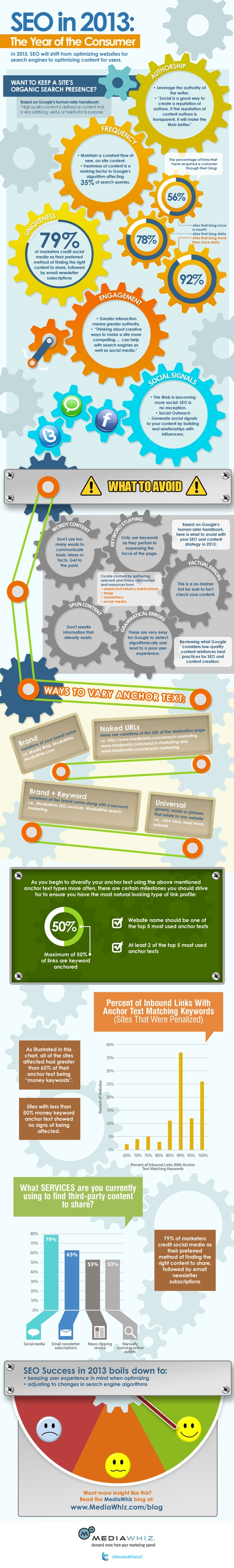 Infographic SEO in 2013 -year of consumer
