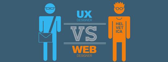 UX designer Vs Web design