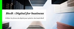 Etude BtoB : Digital for business